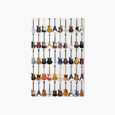 Guitar Legends Art Board Print