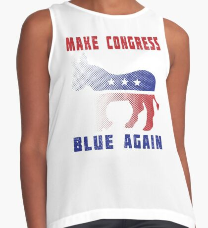 Make Congress Blue Again Contrast Tank