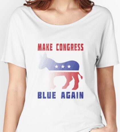 Make Congress Blue Again Women's Relaxed Fit T-Shirt