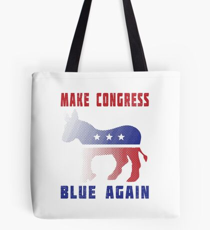 Make Congress Blue Again Tote Bag