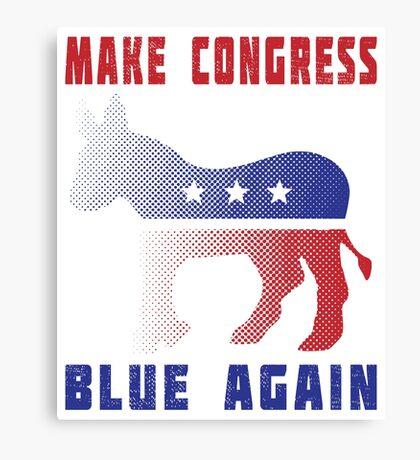 Make Congress Blue Again Canvas Print
