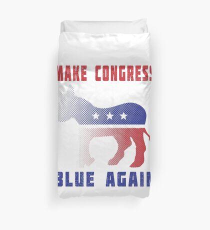 Make Congress Blue Again Duvet Cover