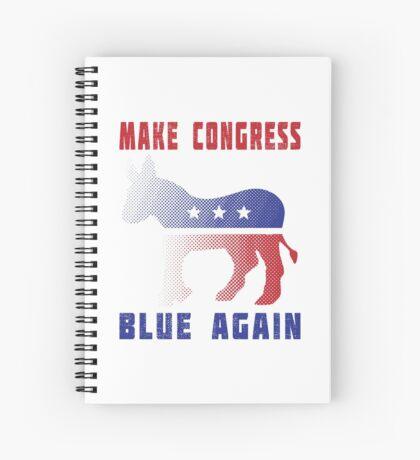 Make Congress Blue Again Spiral Notebook