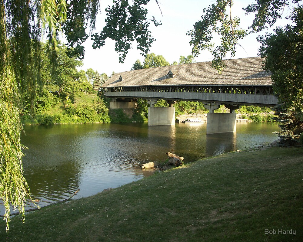 Frankenmuth Covered Bridge by Bob Hardy
