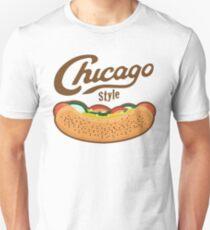 Chicago Style Hot Dog  Unisex T-Shirt