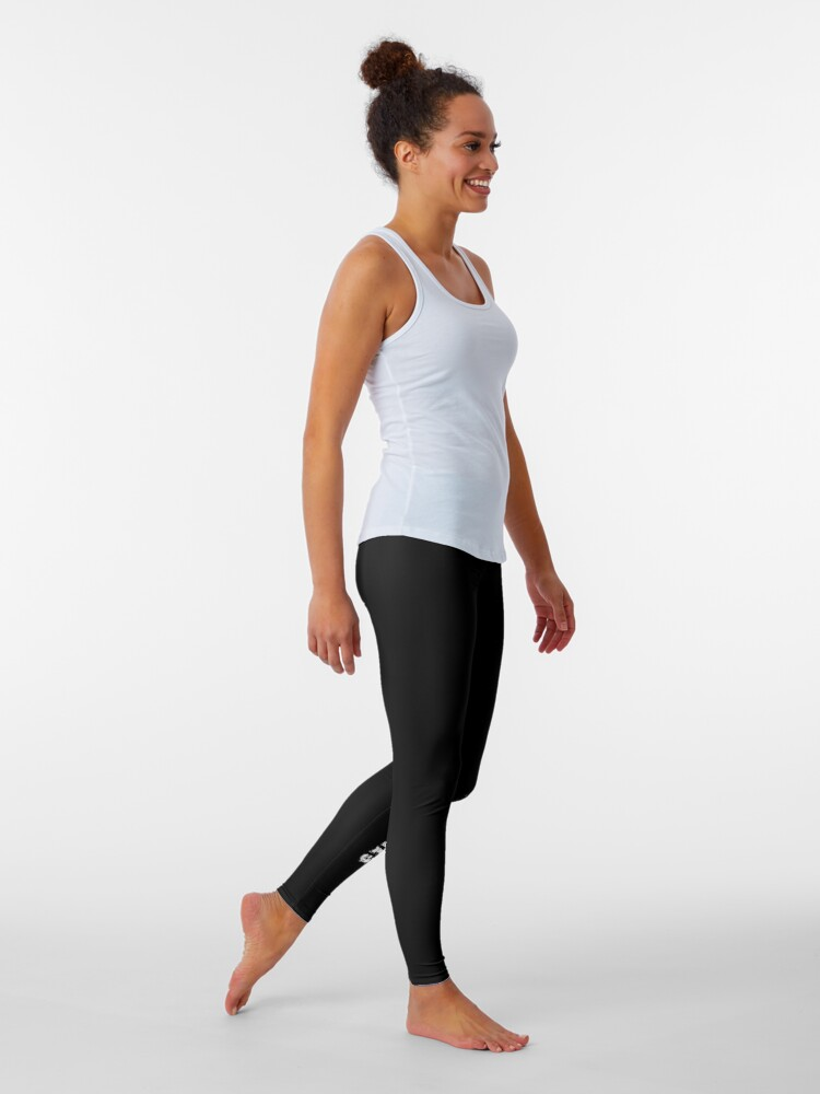 Alternate view of Just reach your goals Leggings