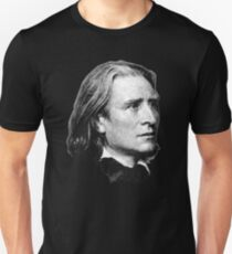 Franz Liszt - brilliant composer, virtuoso pianist Unisex T-Shirt
