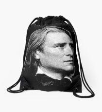 Franz Liszt - brilliant composer, virtuoso pianist Drawstring Bag
