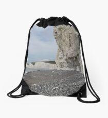 Chalk Cliffs Drawstring Bag