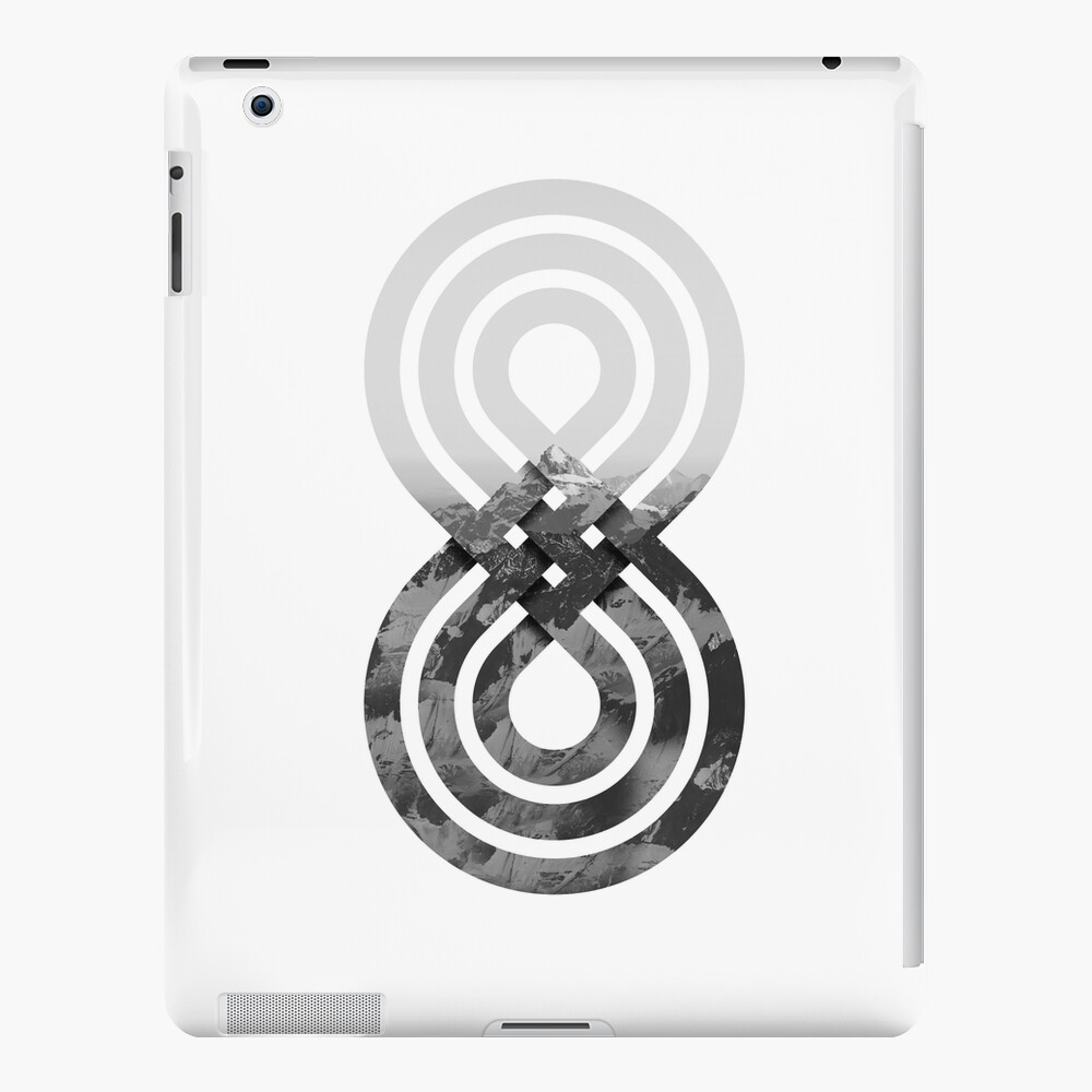 Nature's knot iPad Case & Skin