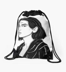 three-dimensional Drawstring Bag