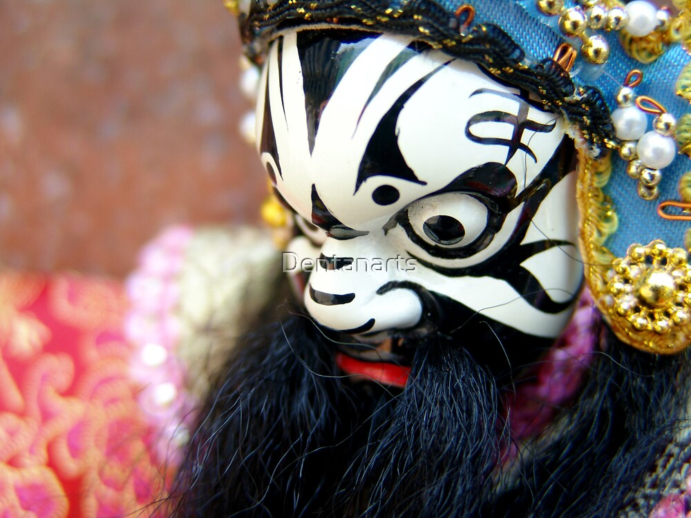Traditional Chinese Puppet by Dentanarts