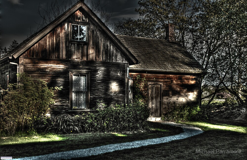 old house at the park by Michael Parramore