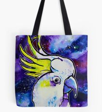 Galaxy Cockatoo Tote Bag