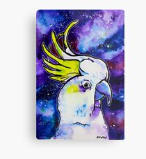 Galaxy Cockatoo Metal Print
