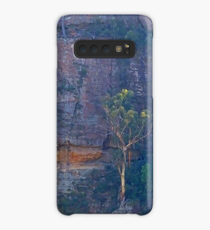Trees on a cliff Case/Skin for Samsung Galaxy