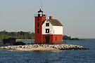 Round Island Lighthouse by John Carpenter