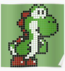 Pixel Yoshi Poster