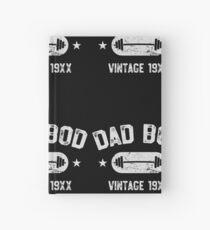 Vati-Bod - Vintages lustiges Trainings-Hemd Vatertag Geschenk Notizbuch