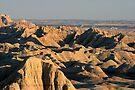 Badlands nearing Sunset by John Carpenter