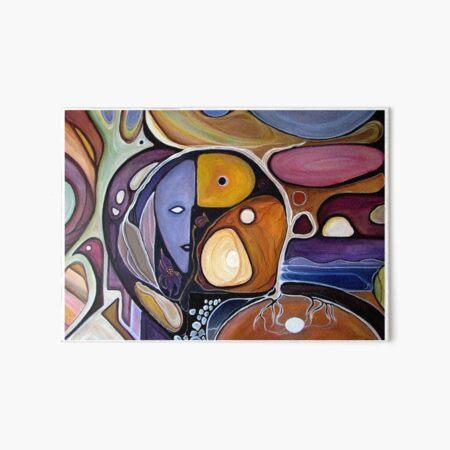 Cycladic Women Art Board Print
