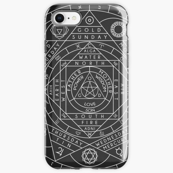 Sacred Geometry iPhone Tough Case