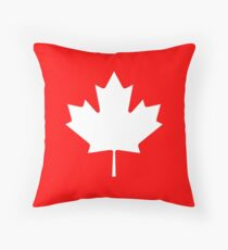 Canadian Flag - National Flag of Canada - Maple Leaf T-Shirt Sticker Throw Pillow