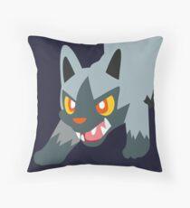 Poochyena - 3rd Gen Throw Pillow