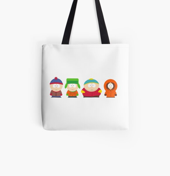 South Park All Over Print Tote Bag