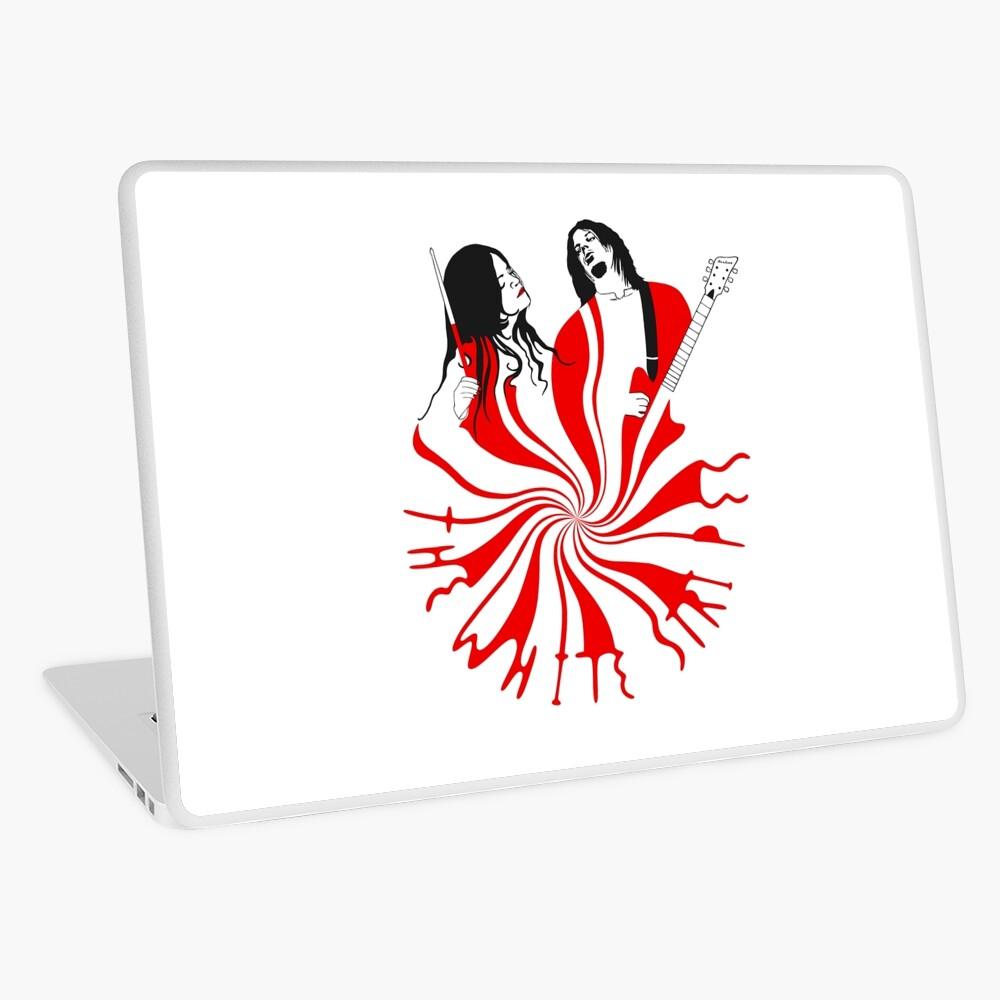 Candy Cane Children Laptop Skin