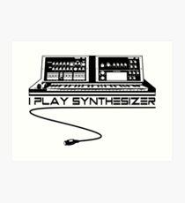 Lámina artística Juego sintetizador