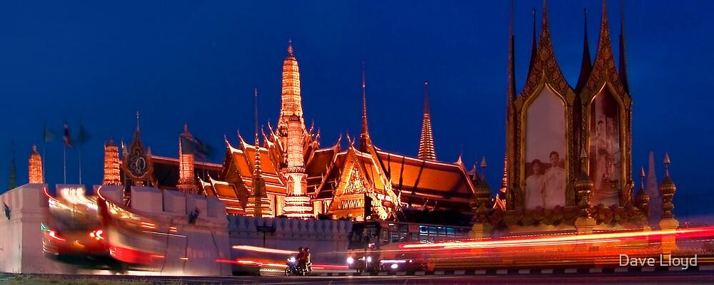 Bangkok At Night by Dave Lloyd
