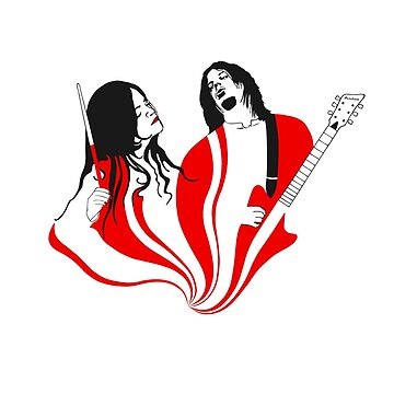Jack and Meg White by delosangeles