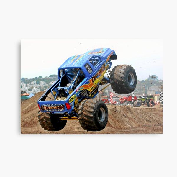 Monster Trucks - Big Things Go Boom Metal Print