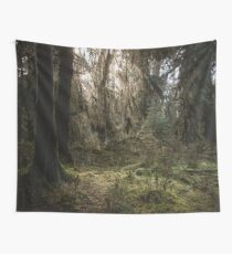 Forest Fairy Tale - Mossy Woods in the Pacific Northwest Wall Tapestry