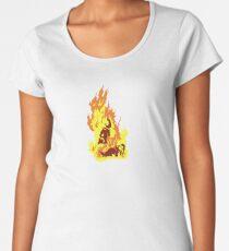 The Self-Immolation of Thích Quảng Ðức Women's Premium T-Shirt