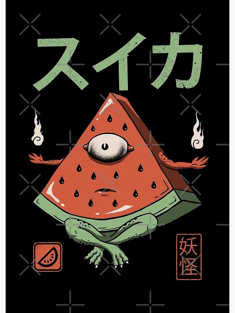 Yokai Watermelon by vincenttrinidad