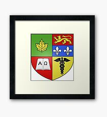 Granby Coat of Arms Framed Print
