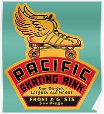 Pacific Skating Rink Poster
