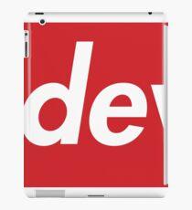 NJ Devils supreme iPad Case/Skin