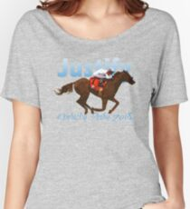 Justify: Kentucky Derby 2018 Women's Relaxed Fit T-Shirt