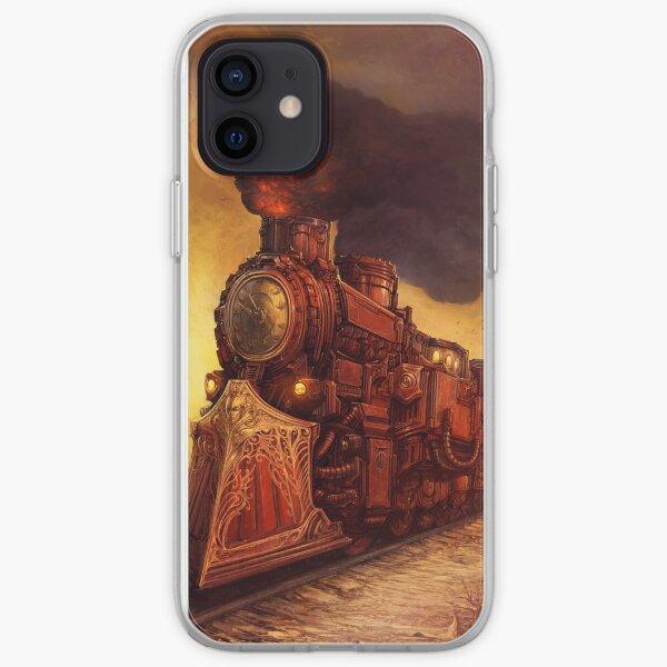 Steampunk Locomotive iPhone Soft Case