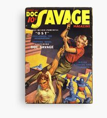 Doc Savage August 1937 Canvas Print