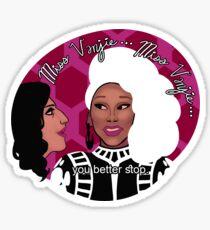 Vanjie Interactions Sticker