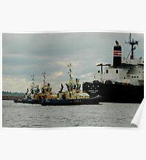 Phillip Woodman's Newcastle Harbour. Poster