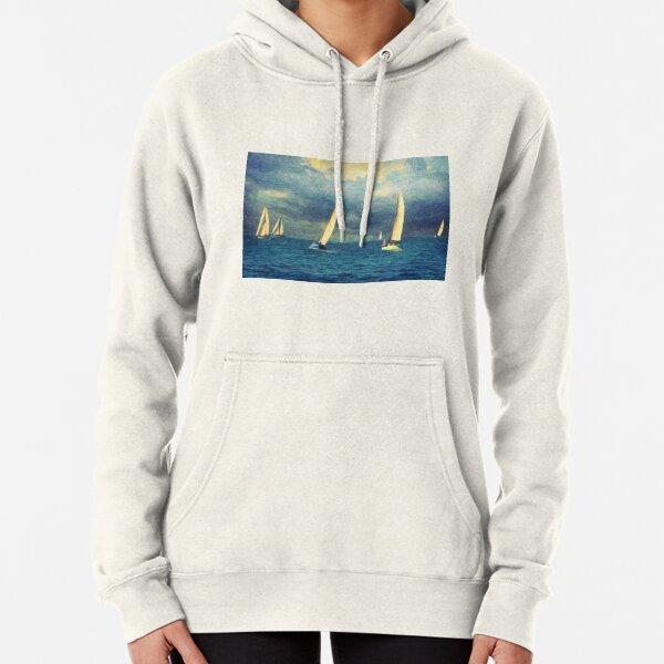 ACE OF SPADES Nautical Print Sweatshirt Indie Hipster Jumper Ocean Sweat Top