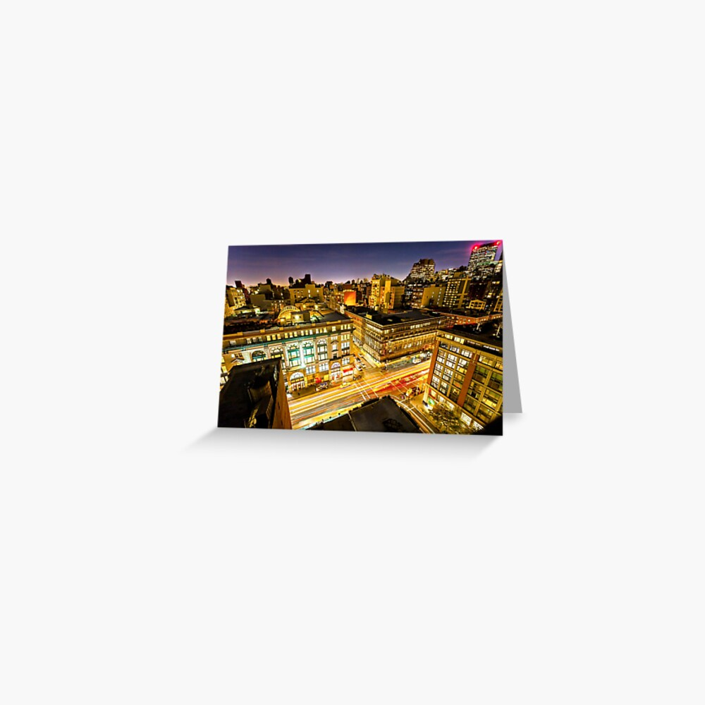 6 Ave Greeting Card