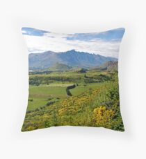 Remarks From Coronet Peak Throw Pillow