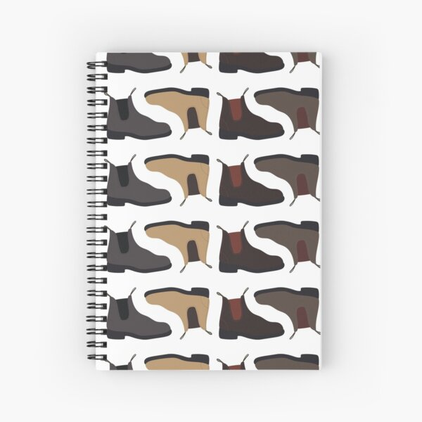 Blundstones Pattern Spiral Notebook