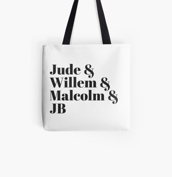 A LITTLE LIFE book JB /& Jude /& Willem /& Malcolm Tote Bags For Women in white